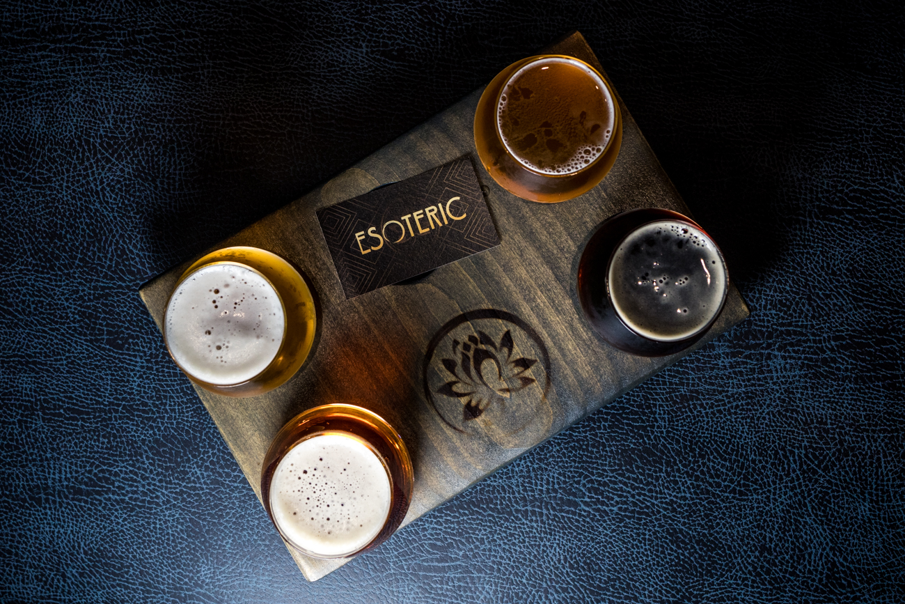 A flight featuring Lotus IPA, Dahlia, and Ethereal / Image: Catherine Viox{ }// Published: 9.17.20