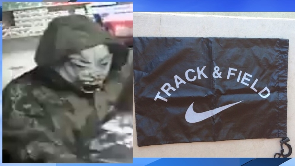 cheraw police looking for masked robber carrying bag full of money