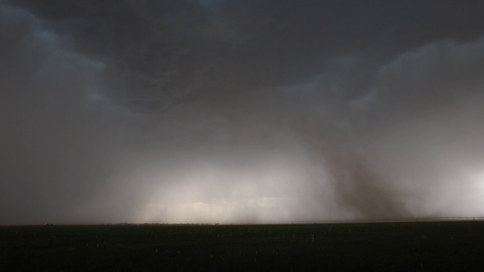 Inside the Storm: 'Gustnadoes' and lightning near Oakley, Kansas