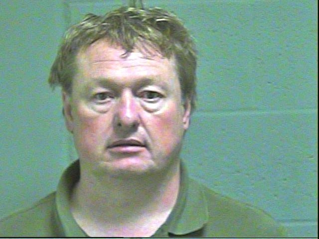 Bryan Barnes, 41, was arrested in Oklahoma City on a complaint of pandering.(Oklahoma County Jail)