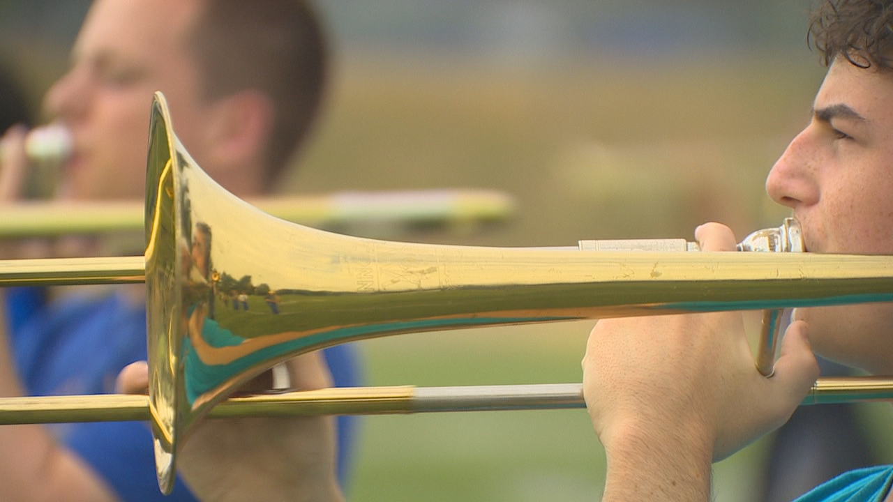 Hazen High School marching band. (Photo: KOMO News)