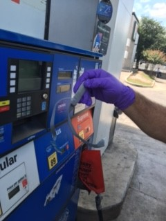 Authorities say a credit card skimmer has been found inside a fuel pump at a North Austin gas station. (Photo courtesy: Texas Department of Agriculture)