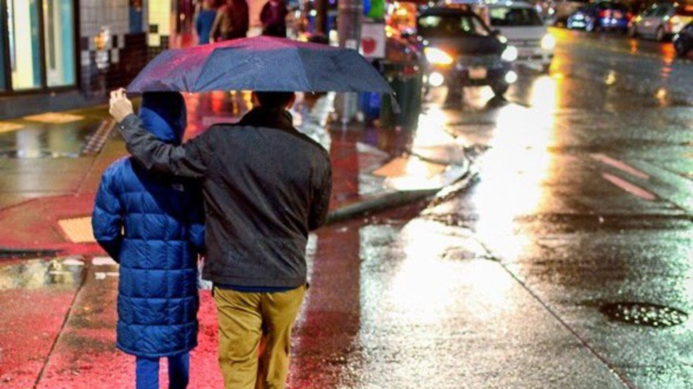 Find out when the rain will move into your area
