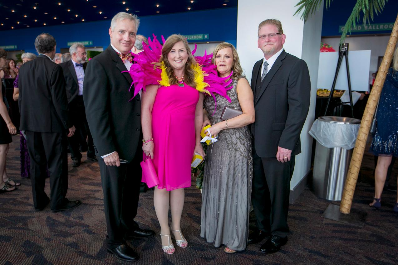 Billy and Kim Lucken with Jeannie and Kevin Stone / Image: Mike Bresnen Photography