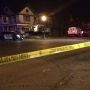 Woman killed in Springfield in front of her child