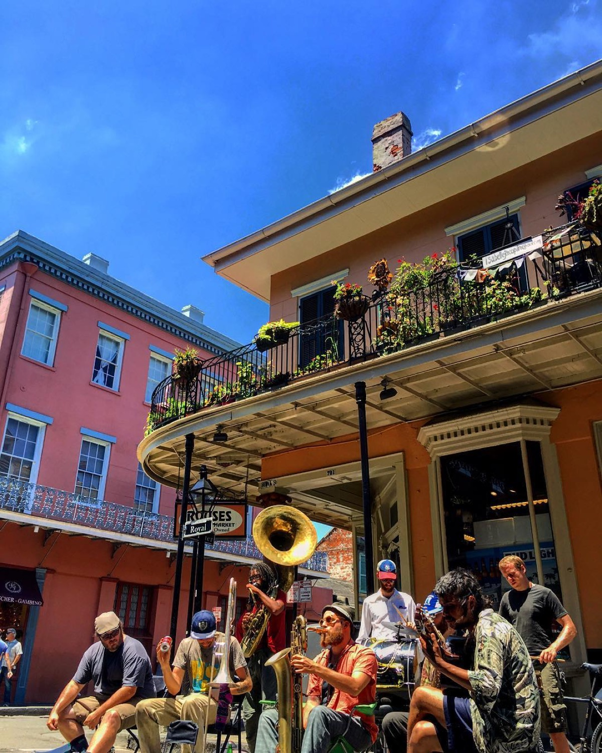 PLACE: French Quarter, New Orleans / MILES FROM CINCY: 815 / ABOUT: New Orleans' French Quarter is well known for its shenanigans, but come off-season or peer into a side alley and you'll realize this is far more than a large, glitzy outdoor cantina. / Image courtesy of Instagram user @melinapalisse // Published: 5.14.17