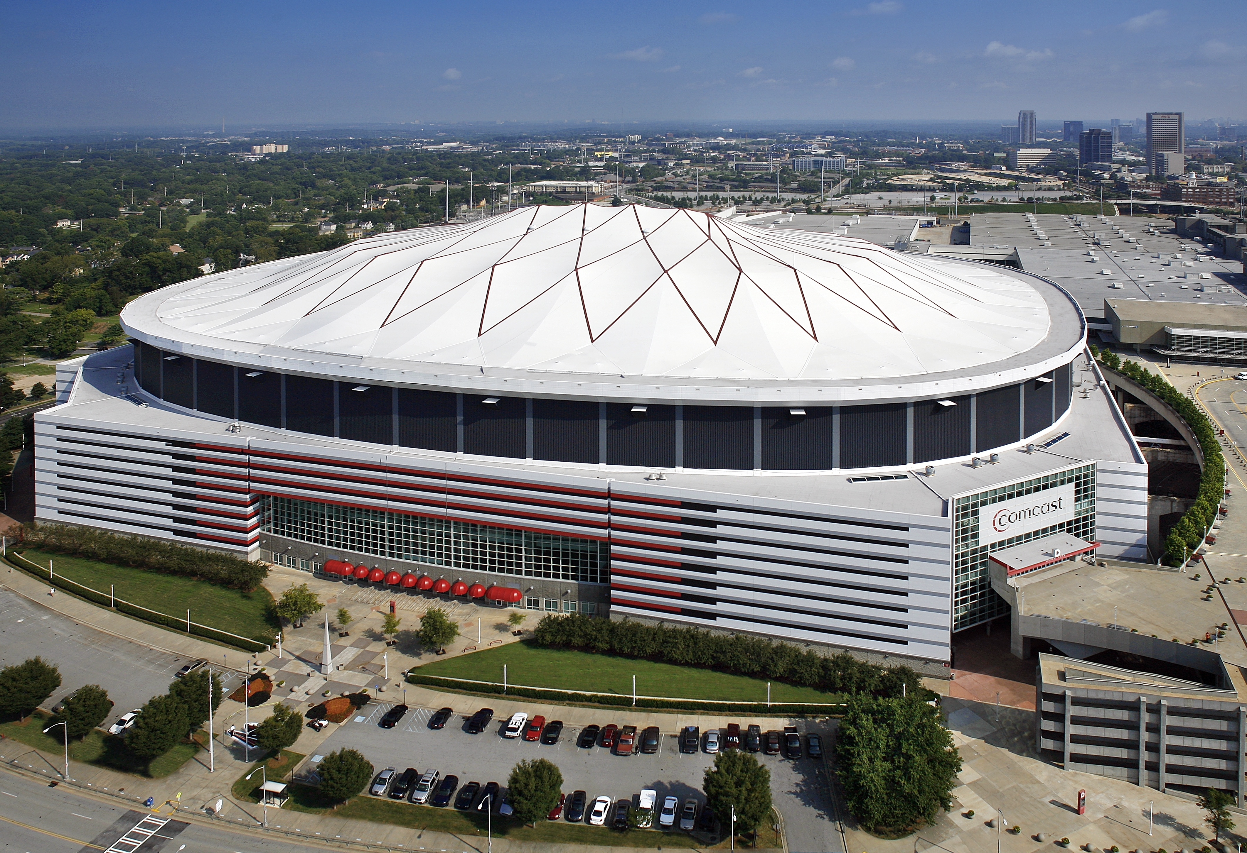 The Georgia Dome is scheduled to{&amp;nbsp;}be imploded on Nov. 20, 2017{&amp;nbsp;}after a new stadium was completed. (Property of TVS, Inc.)<p></p>