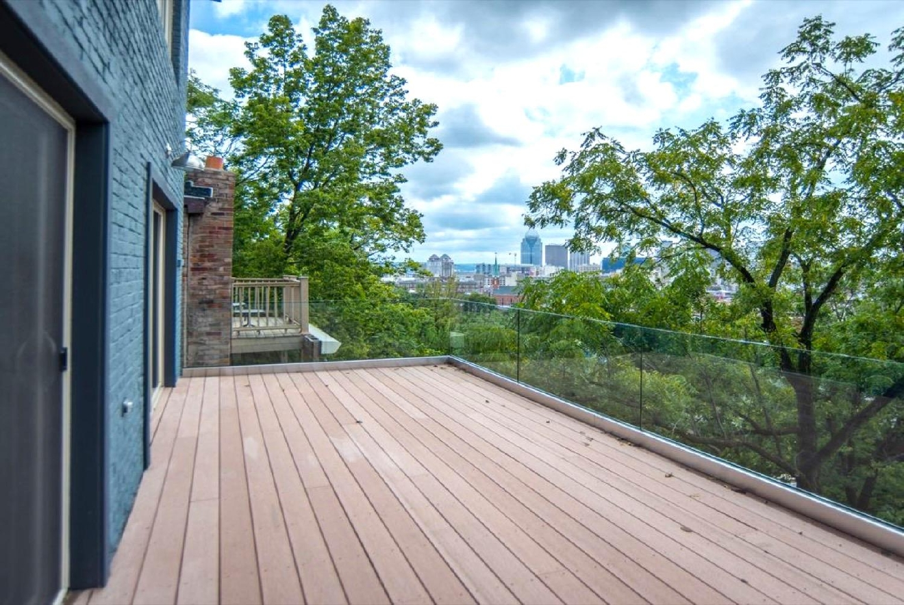 The home at 149 Goethe Street is split into two condos, one with three beds and the other with two. Both units feature modern amenities and wonderful city views. They are currently on the market for  $389,900 or $419,000 respectively. / Image courtesy of Coldwell Banker West Shell / Published: 11.11.16