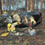 Van Buren County driver trapped in crash, drugs suspected