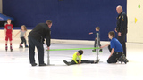 Bellevue police skate with children during 'Tweet Meet' event