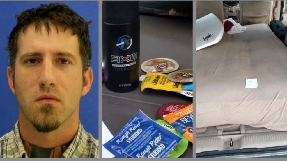 Man arrested for asking sisters for sex near Md. school; condoms, mattress found in van