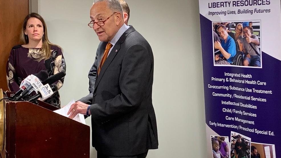 Sen. Schumer calls suicide a public health crisis