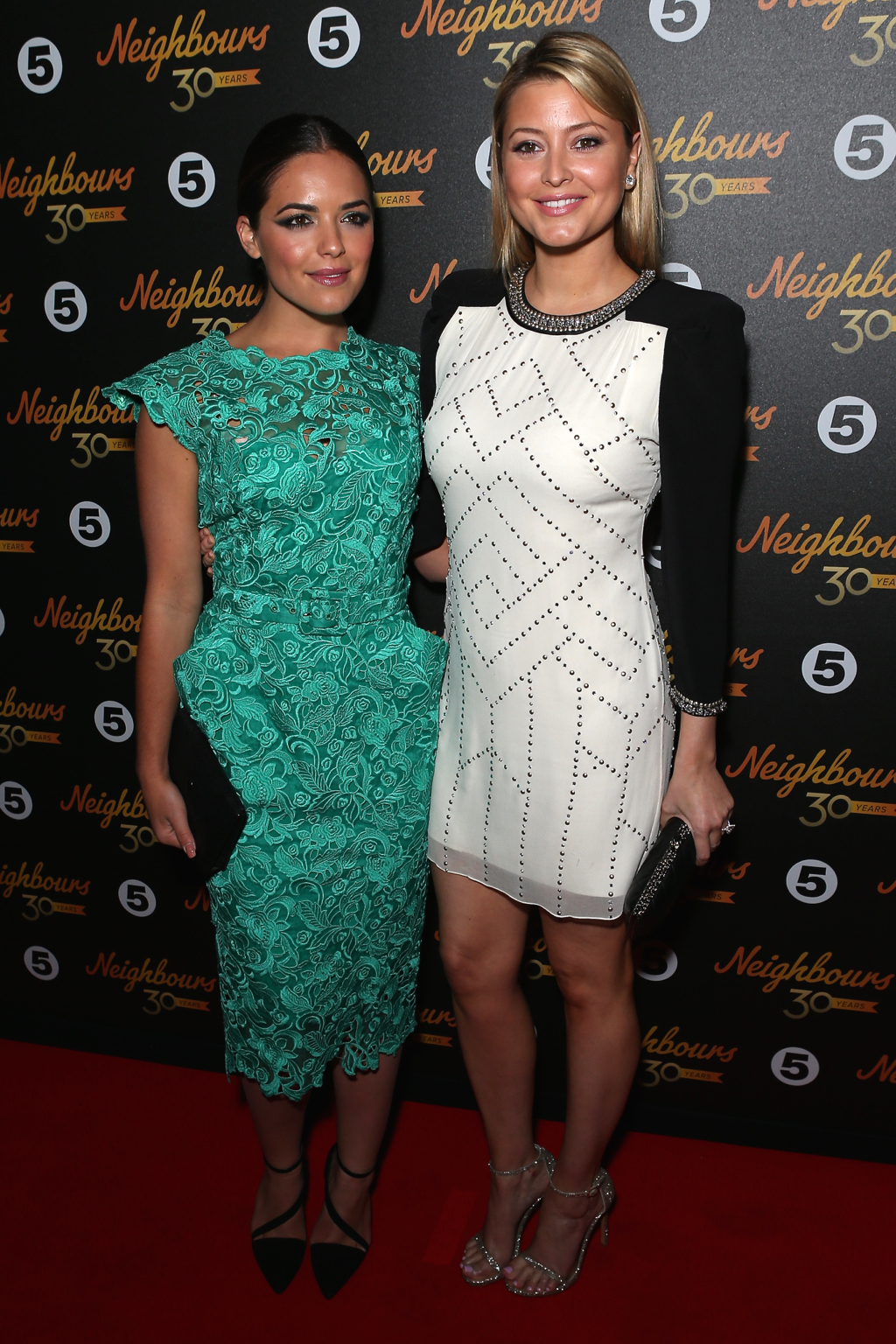 'Neighbours' 30th Anniversary event at Caf�© De Paris in Leicester Square - Arrivals  Featuring: Olympia Valance, Holly Valance Where: London, United Kingdom When: 17 Mar 2015 Credit: Phil Lewis/WENN.com