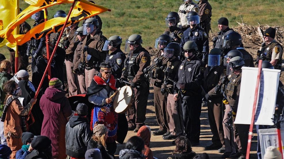 Dakota Access pipeline work resumes near site of protest | KOMO