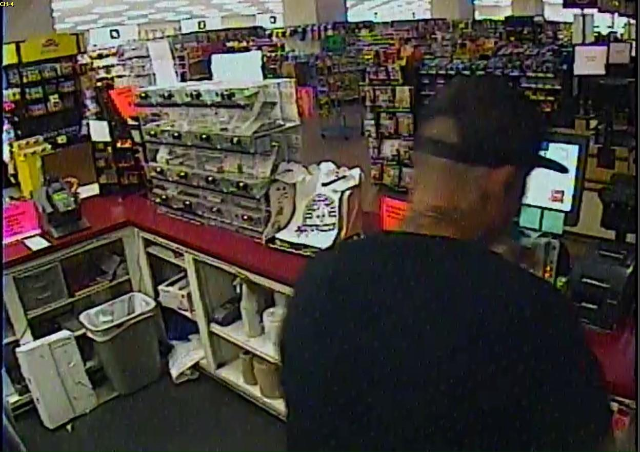 Suspect stole cigarettes from a Sumter Piggly Wiggly on October 13 (Source: SCSO)<p></p>