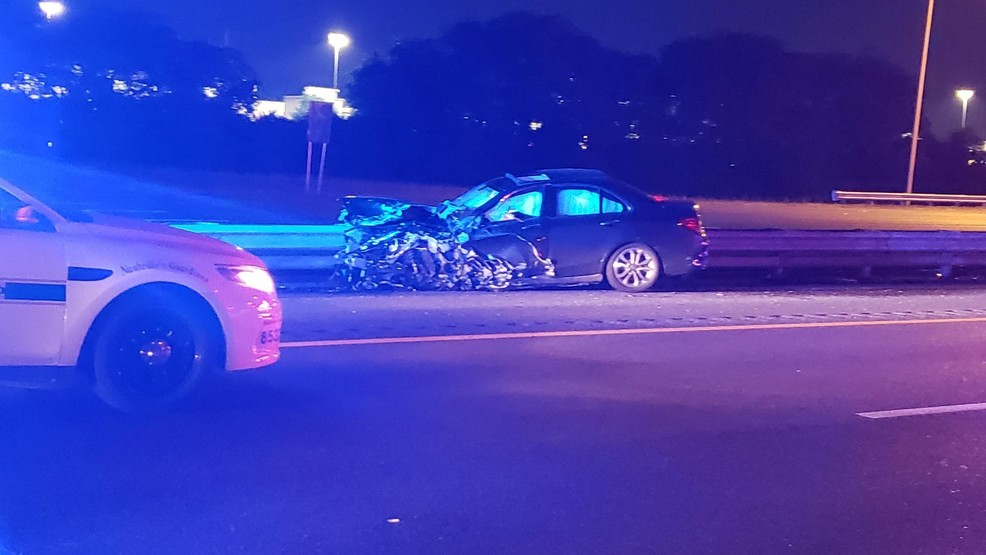 I-65 south closed, five injured after wrong-way driver collides with another vehicle