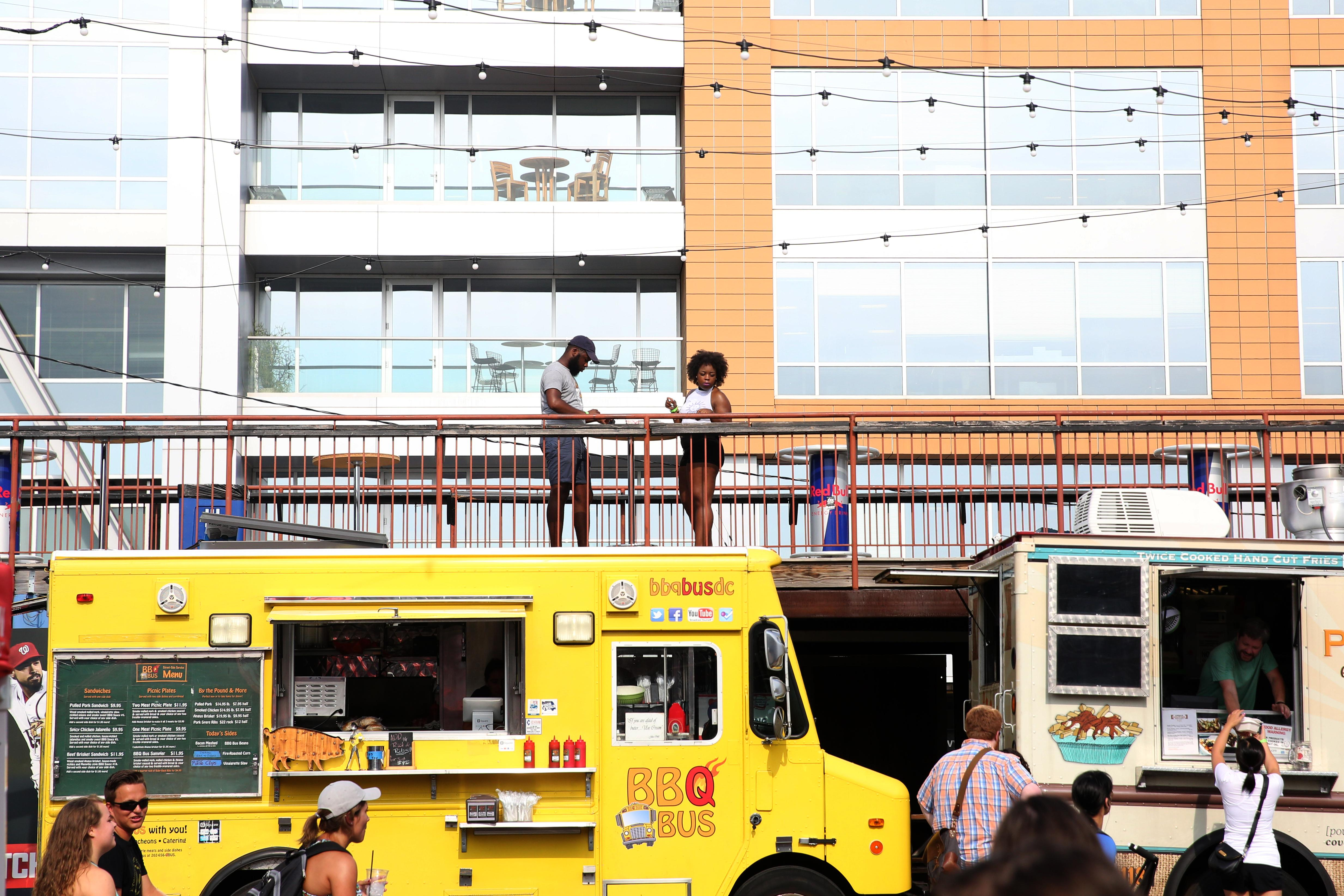 Every month, Truckeroo brings some of the DMV's best food trucks to The Bullpen, on the edge of Nat's Park. The next food truck festival will be held on August 4, so be sure to get in line early for a cold beer and top off your meal with a sweet treat. (Amanda Andrade-Rhoades/DC Refined)