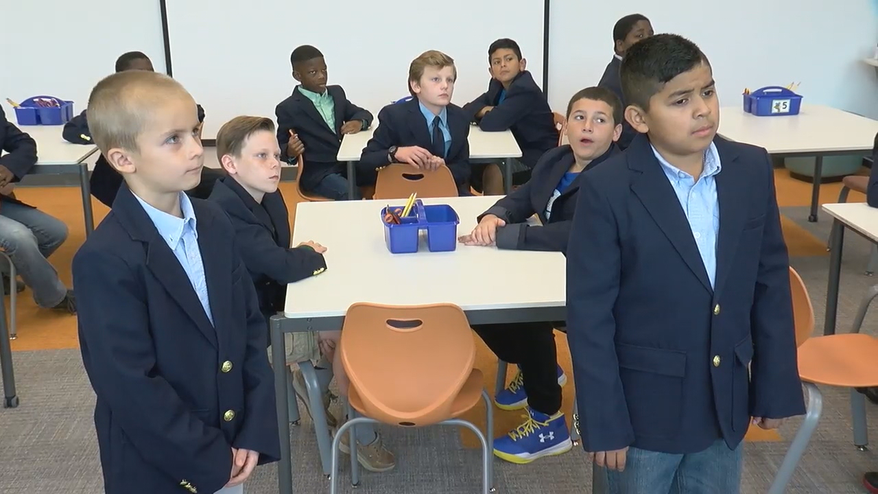 Stafford County students learn etiquette through 'Boys in Blazers' program (ABC7)