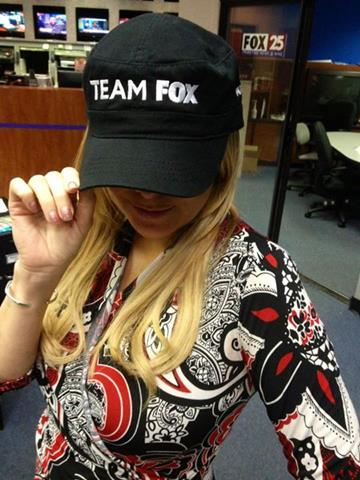 May sweeps arrived and Jaime is Team Fox!(taken May 2)