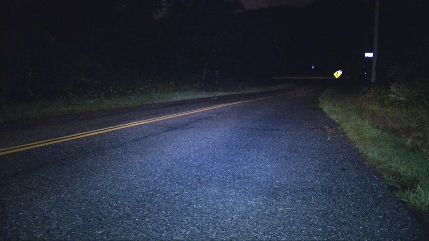 South Kingstown police say a woman was struck and killed on Narragansett Avenue East, Monday, Aug. 7, 2017. (WJAR)
