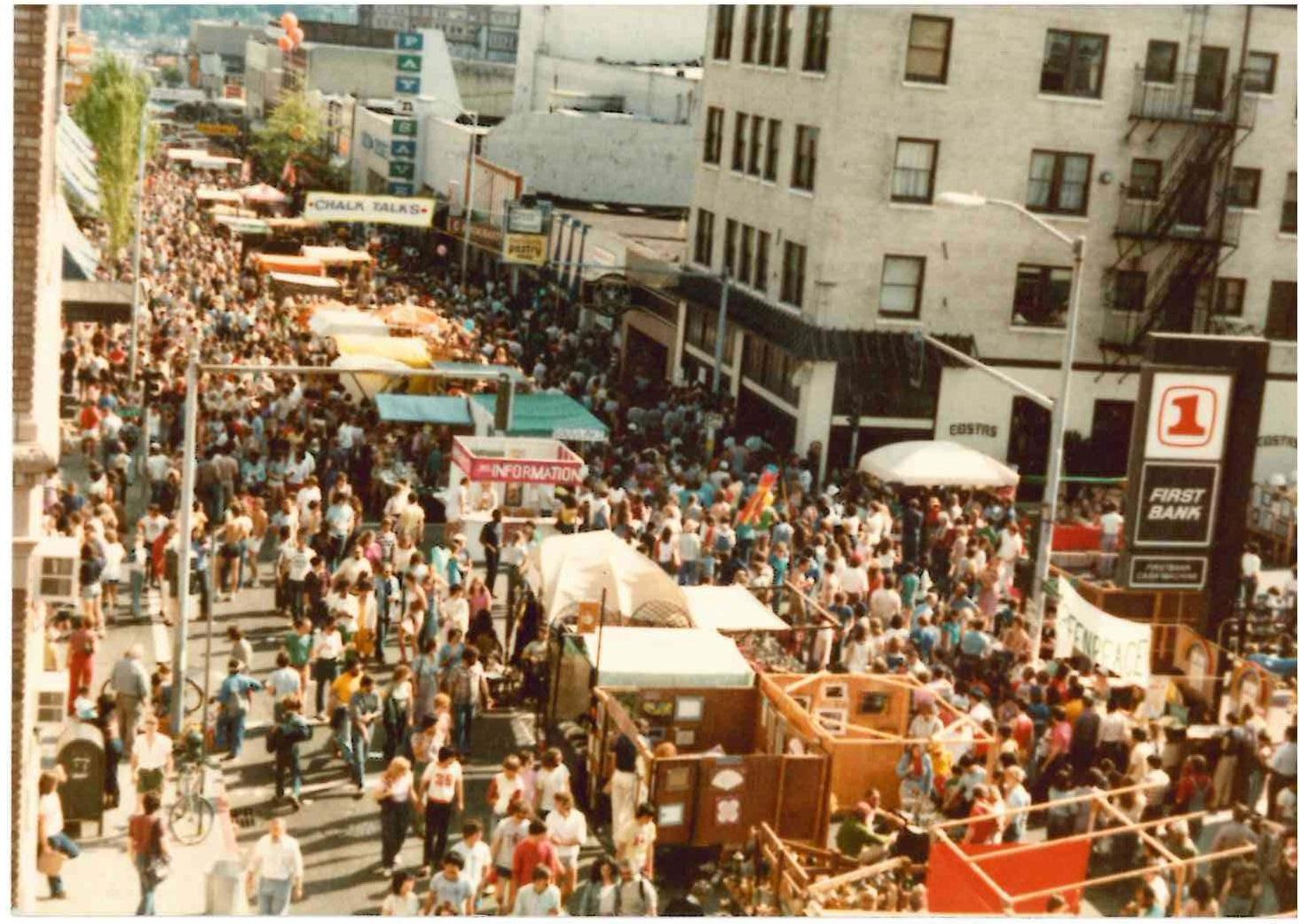 The 49th annual U District StreetFair is happening from May 19-20.