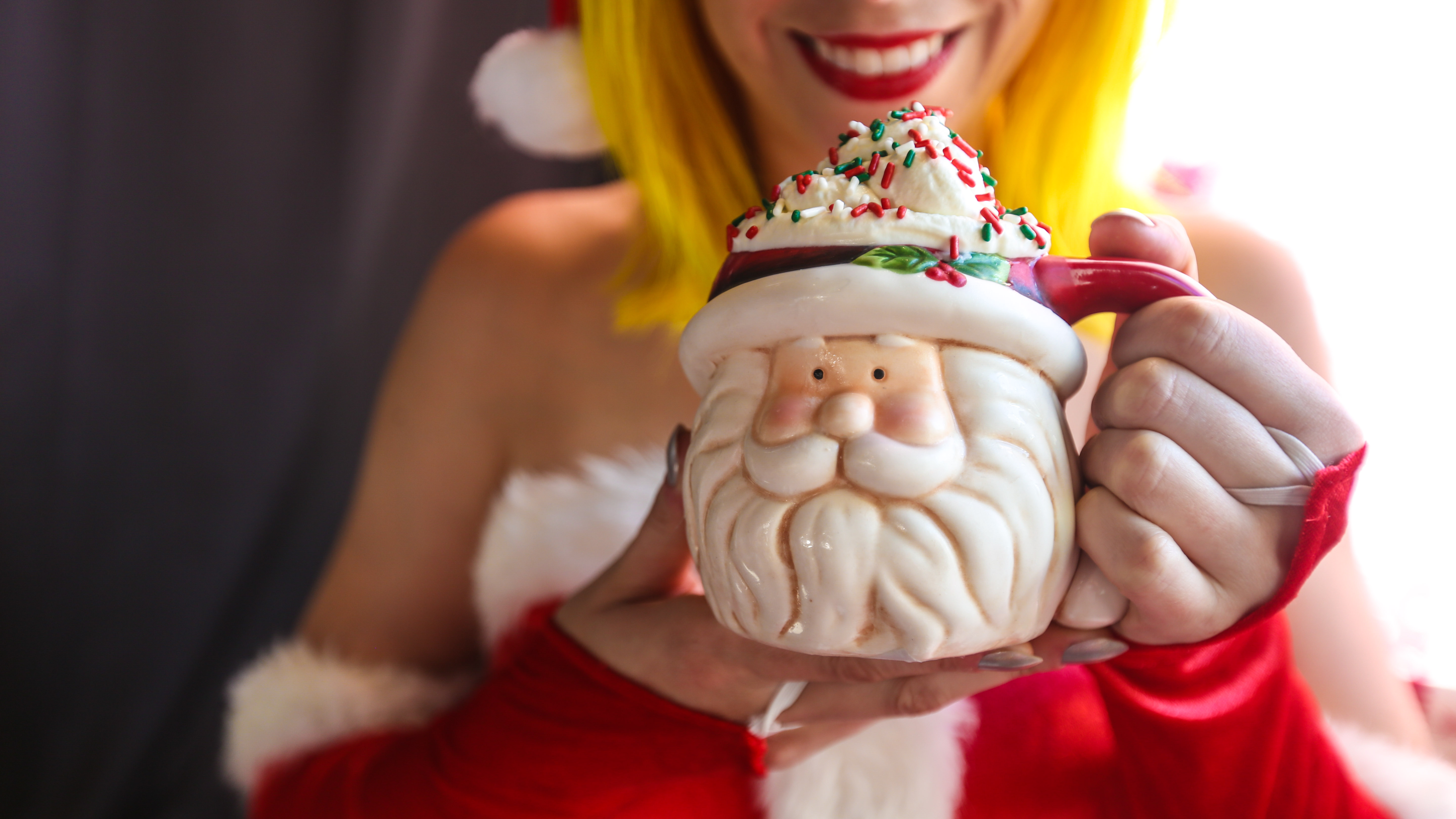 This year's drink menu is heavily inspired by classic holiday movies, music and nostalgia, with kitschy cocktails such as &quot;Elf's Breakfast,&quot; &quot;Whobilation&quot; and &quot;I Sleigh, All Day.&quot; Pictured here is the &quot;You Go, Glen Coco!&quot; (Image:{&amp;nbsp;}FarrahSkeiky/Dim Sum Media)<p></p>