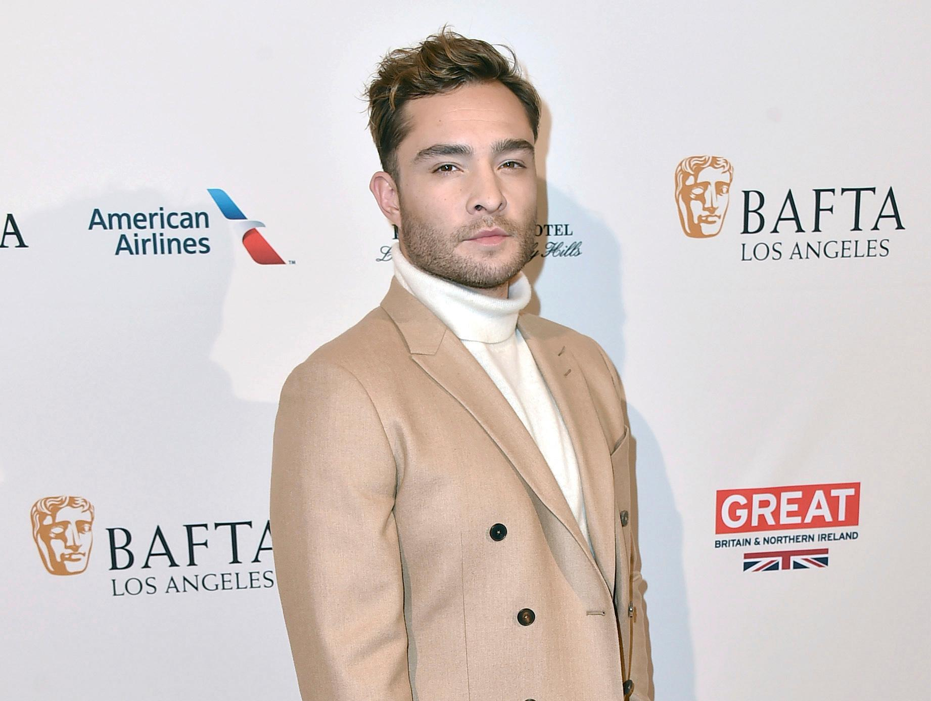 FILE - In this Jan. 9, 2016 file photo, Ed Westwick arrives at the BAFTA Awards Season Tea Party at the Four Seasons Hotel in Los Angeles. {&amp;nbsp;}(Photo by Jordan Strauss/Invision/AP, File)<p></p>