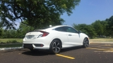 2016 Honda Civic Coupe: Style and tech in a compact package