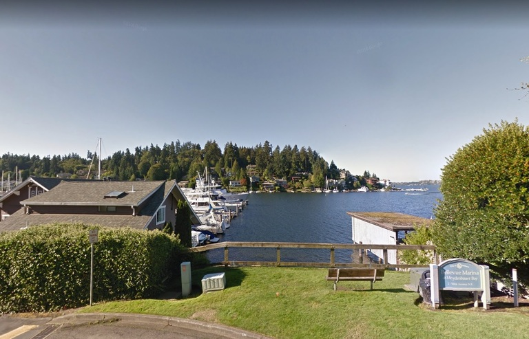 <p>5. Bellevue, Washington. Education Rating: 92.7. <br>Adult Population With:Bachelor's Degree: 37% Master's or Professional Degree: 24% Doctorate Degree: 4% (Image: Bellevue Marina, GoogleMaps)</p>