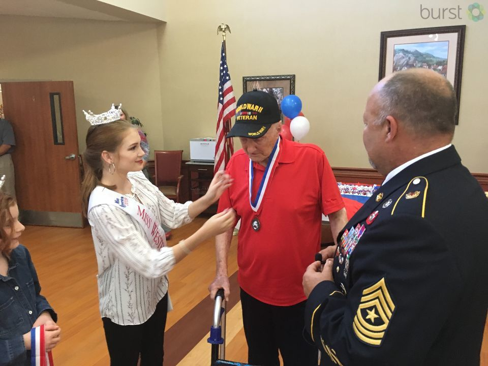 We can't really thank veterans  enough, but Veterans Day weekend gives us a chance to show our appreciation in different ways. (Photo credit: WLOS staff)