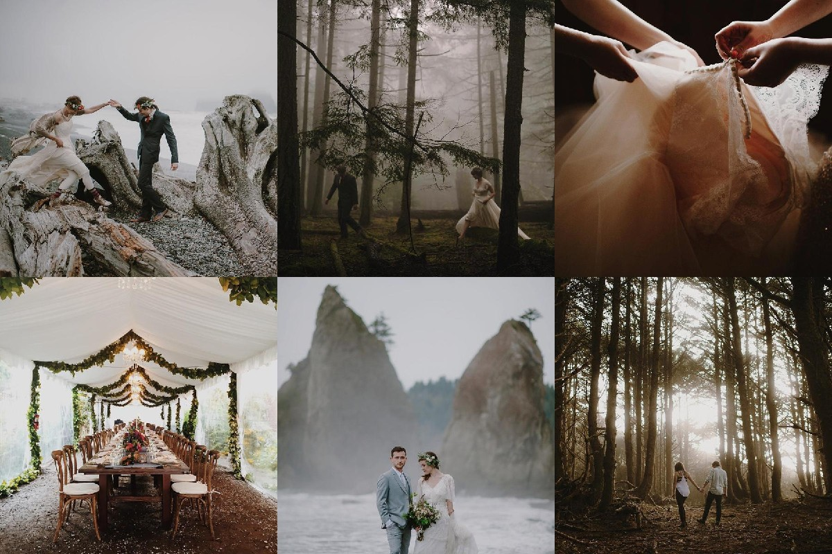Kristen Marie Parker (@kristenmarieparker) takes some of the most beautiful photos we've ever seen. Kristen is a wedding photographer so whether she is capturing a wedding in Seattle or around the world her Instagram is full of whimsical images.  (All photos courtesy of @kristenmarieparker )