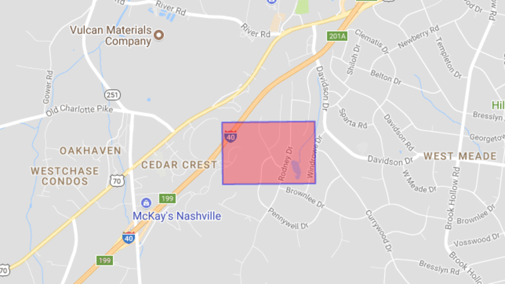 Power outage affecting almost 4,800 West Nashville residents | WZTV