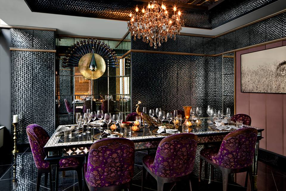 The Sheesh Mahal private dining room{&nbsp;}(Image: Courtesy Punjab Grill DC)<p></p>