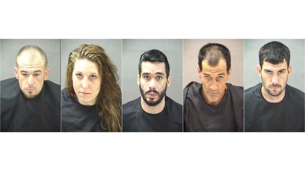 police multiple arrested on drug charges after officers serve