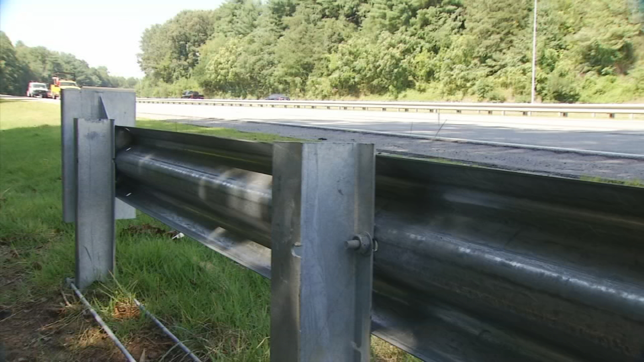 South Carolina DOT officials say they will no longer install the X-Lite guardrail ends due to safety concerns. (Photo credit: WLOS Staff)
