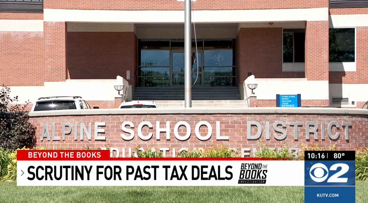 As budgets crunch, a business deal comes back to haunt Alpine schools (Photo: KUTV)