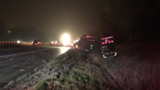 Overturned semi on I-94 in Kalamazoo County