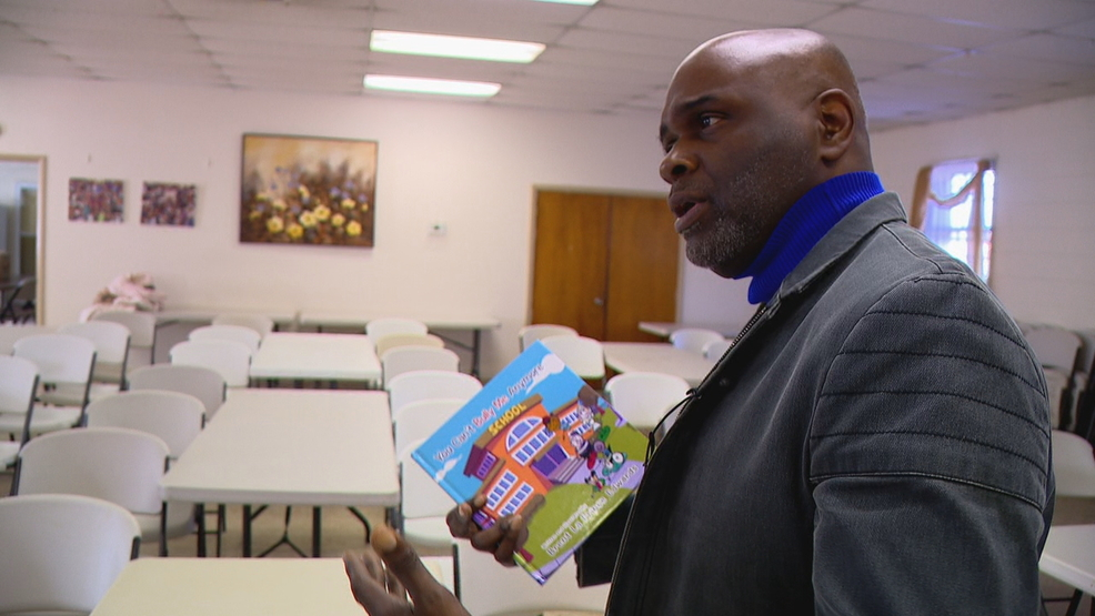 Asheville author says children's book about bullying draws from his own painful experience