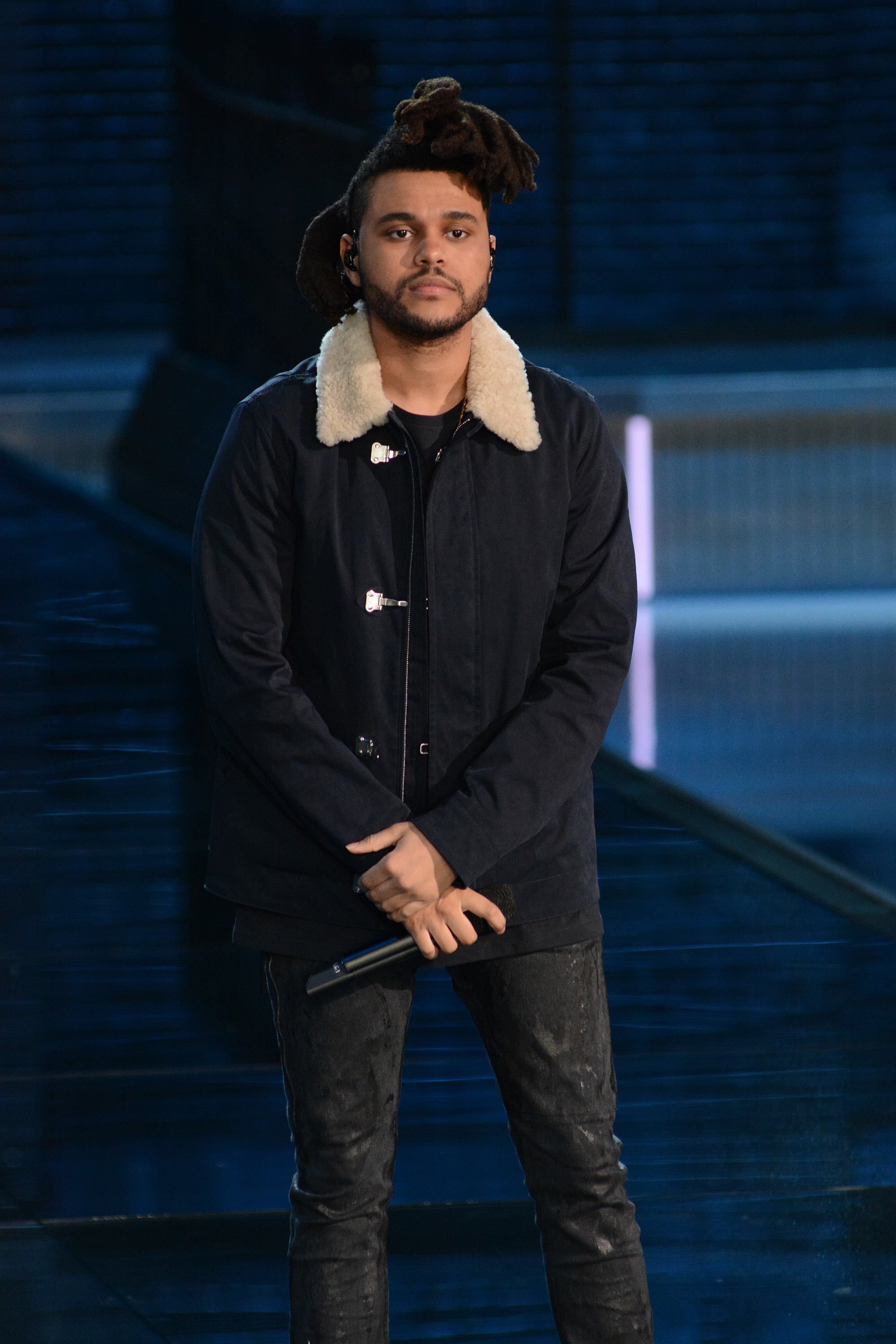 The Weeknd at the 2015 Victoria's Secret Fashion Show (Ivan Nikolov/WENN.com)