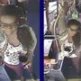 Police: Help us identify woman accused of throwing urine on a bus driver