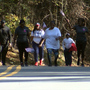 Crowds come to Ocmulgee National Monument to walk for Sgt. Curtis Billue