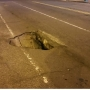 Sinkhole in Northwest D.C. causes road closures