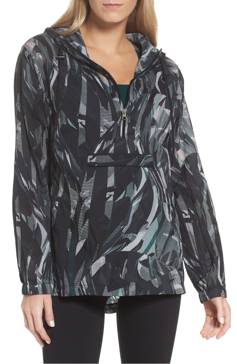 { }Aura Print Anorak - $119.{ }Looking for a jumpstart to your workout wardrobe? Zella, a Nordstrom brand, has you covered. Find more info and buy online at shop.nordstrom.com/c/all-zella. (Image: Nordstrom)