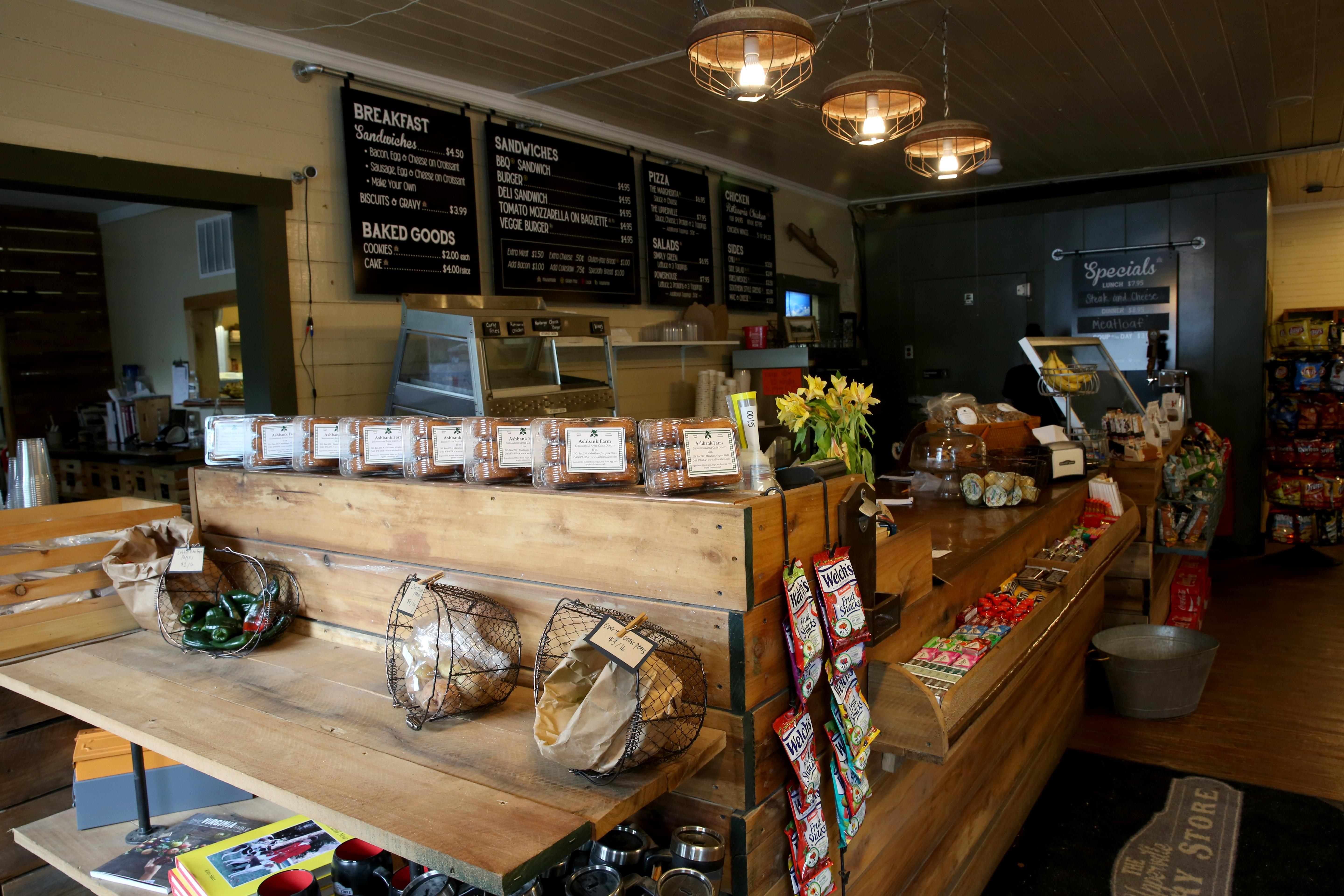 Upperville is just a few miles from Sky Meadows State Park, but if you want to take a picnic on your hike, check out Upperville Country Store first. It offers portable bites and local produce. (Amanda Andrade-Rhoades/DC Refined)