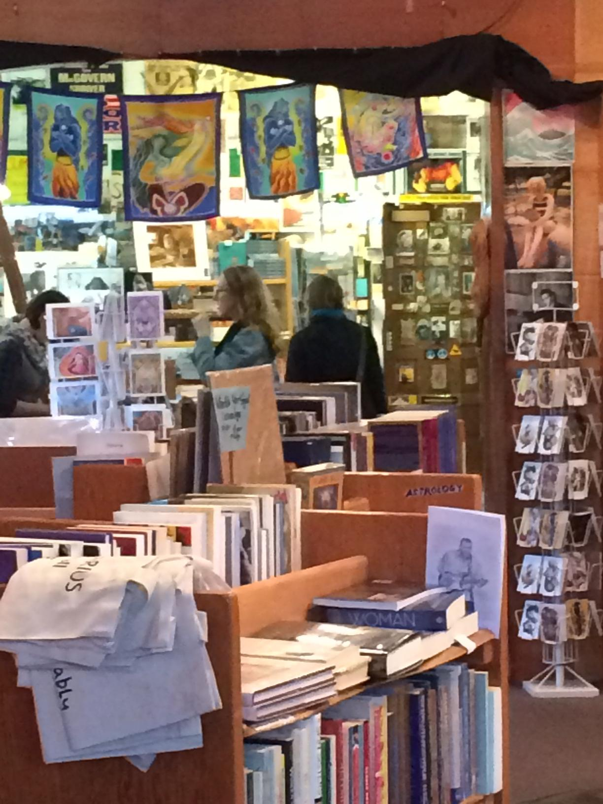 Tsunami Books is at risk of losing its location on Willamette Street. The store owner says rent is going up and several other business owners have their eye on the location. (SBG photo)
