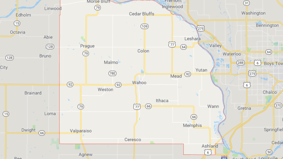 Saunders County Nebraska announces road closures   KPTM