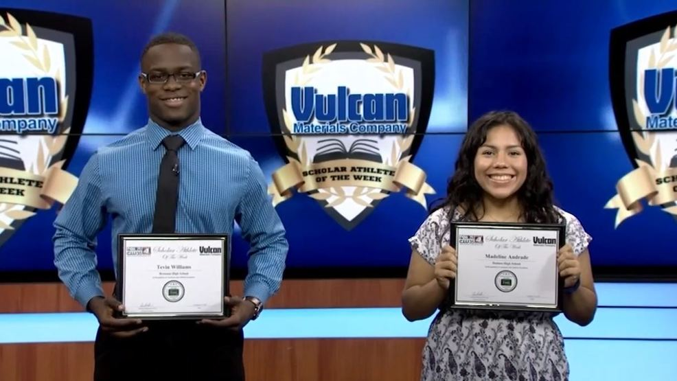 Scholar Athletes of the Week: Madeline Andrade, Tevin Williams