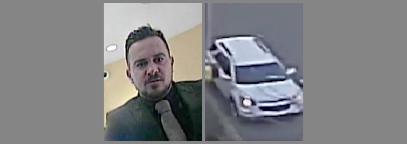 Man and SUV linked to kidnapping of Georgetown University student on Jan. 26.  Monday, Jan. 30, 2017 (Metropolitan Police)