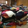Distribution center hosts yard sale, gives bags to fill for $5