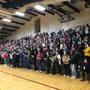 Omro High School throws pep rally for engineering team